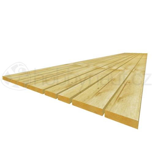 Dřevo - Prkna šířkově netříděná
