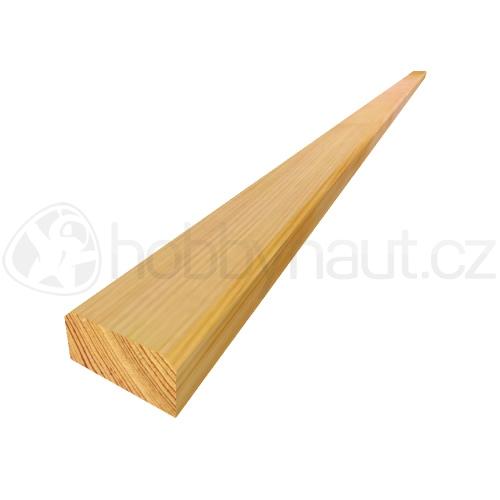 Dřevo - Lavičkové latě modřínové 25x50mm x 1,9m