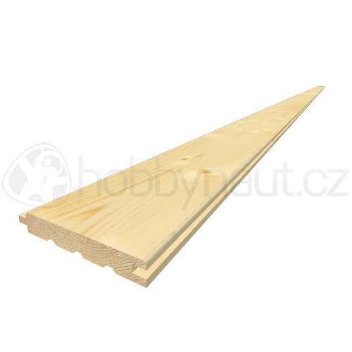 Dřevo - Palubky obkladové softline smrk A/B 14x96mm x 4,2m