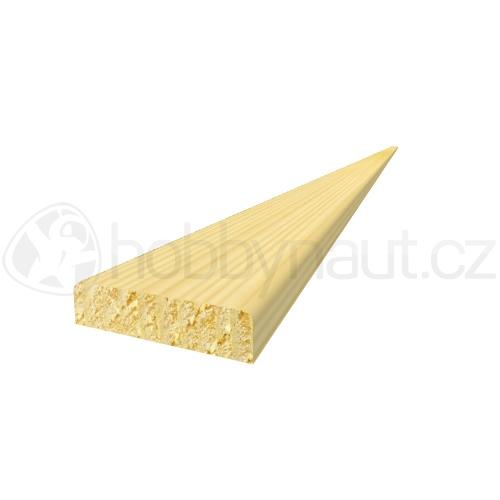 Dřevo - Dřevěná lišta smrk KRYCÍ K2 d.200cm