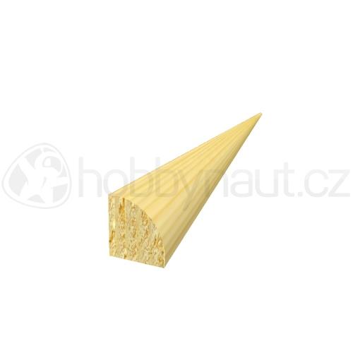 Dřevo - Dřevěná lišta smrk STROPNÍ S2 d.200cm