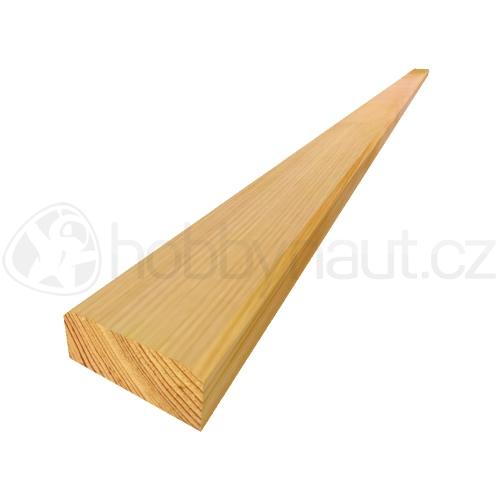 Dřevo - Lavičkové latě modřínové 25x60mm x 2m