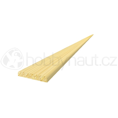 Dřevo - Dřevěná lišta smrk KRYCÍ K4 d.200cm
