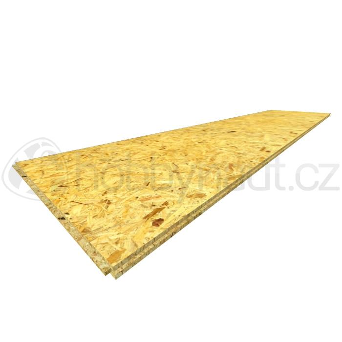 Dřevo - OSB desky 4PD 625x2500mm tl. 25mm (28ks/pal)