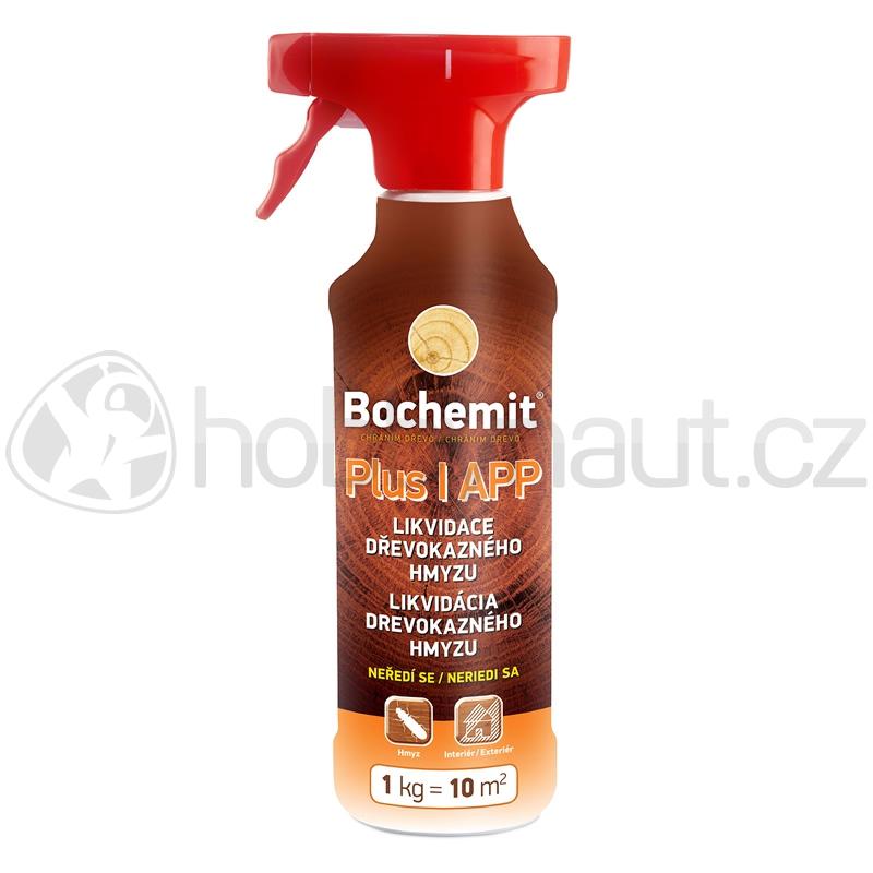 Impregnace na dřevo - Bochemit PLUS I APP roprašovač 500g