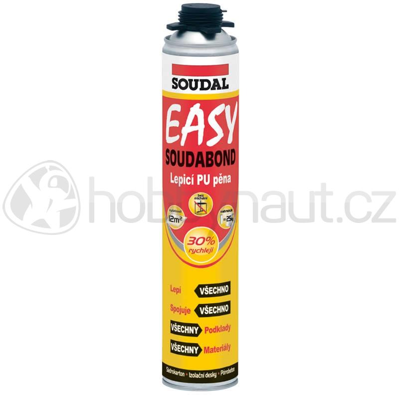 Stavební chemie - Soudal lepící pěna SOUDABOND EASY pistolová 750ml