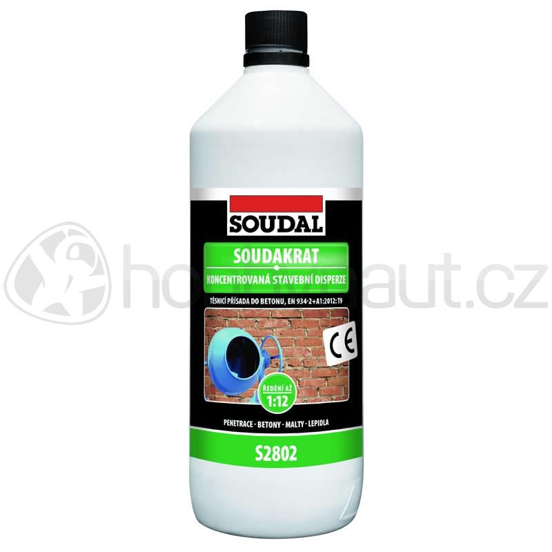 Stavební chemie - Soudal SOUDAKRAT S2802 koncentr. stavební disperze 1kg