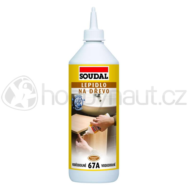 Stavební chemie - Soudal lepidlo na dřevo 67A vodostálé