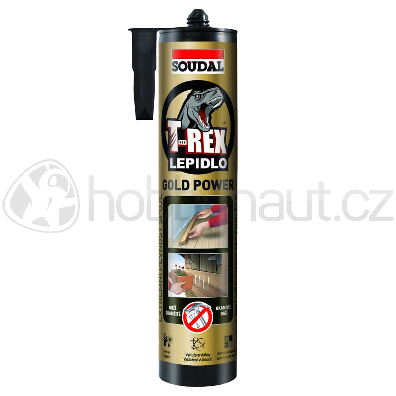 Stavební chemie - Soudal lepidlo T-REX GOLD POWER 290ml