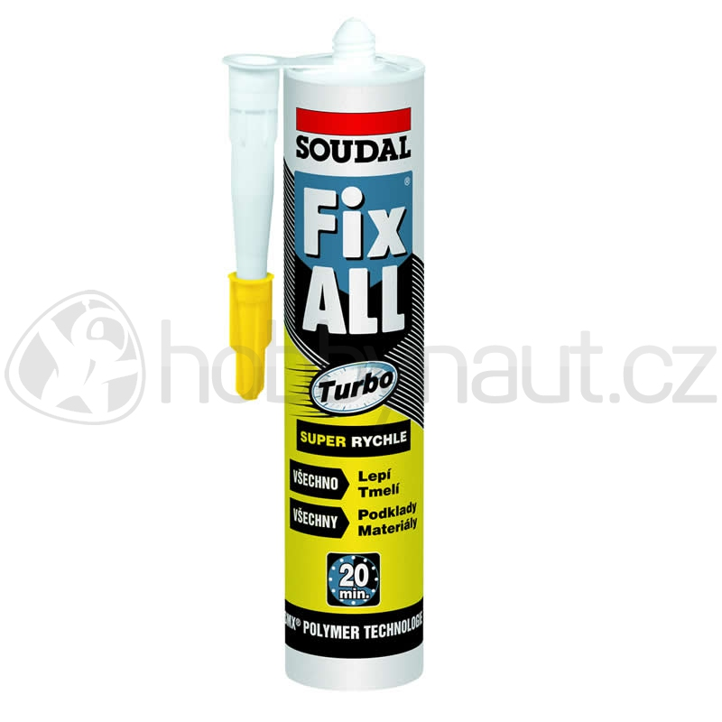 Stavební chemie - Soudal Fix All TURBO bílý 290ml