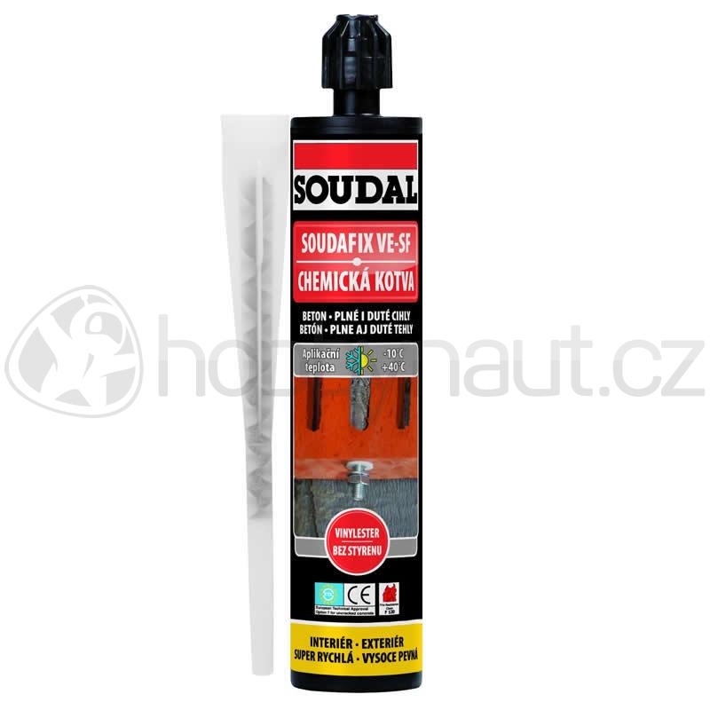 Stavební chemie - Soudal chemická kotva SOUDAFIX VE-SF 280ml