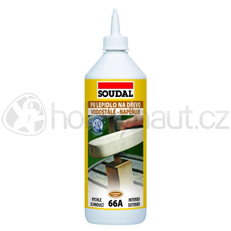 Stavební chemie - Soudal lepidlo na dřevo 66A polyuretanové