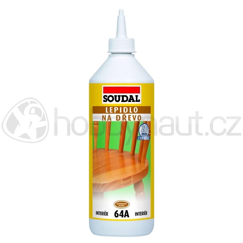 Stavební chemie - Soudal lepidlo na dřevo 64A rychleschnoucí