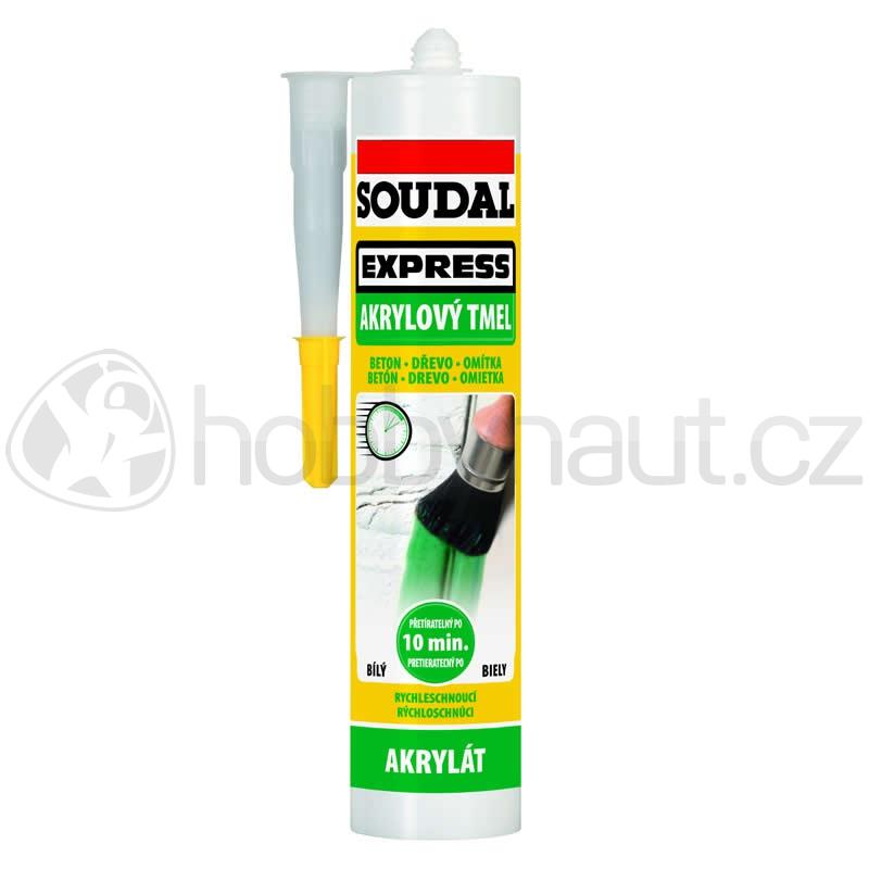 Stavební chemie - Soudal akrylový tmel EXPRESS bílý 300ml