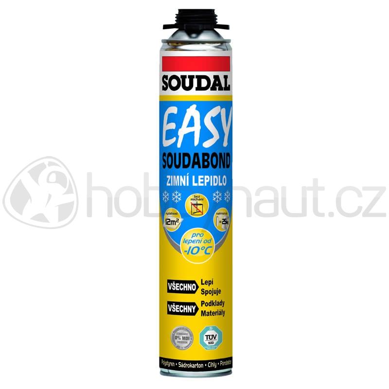 Stavební chemie - Soudal lepící pěna SOUDABOND EASY zimní pistolová 750ml