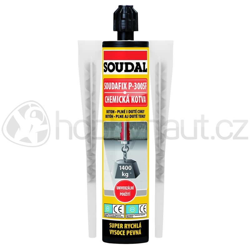 Stavební chemie - Soudal chemická kotva SOUDAFIX P-300 SF 300ml