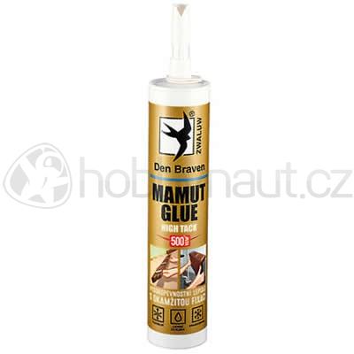 Stavební chemie - Den Braven MAMUT GLUE HIGH TACK bílý 290ml