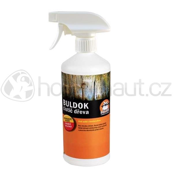Stavební chemie - BULDOK - čistič dřeva s rozprašovačem 500g