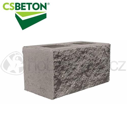 Zdicí materiály - CSBLOK jednostranně štípaný, přírodní 200x400mm tl. 20cm