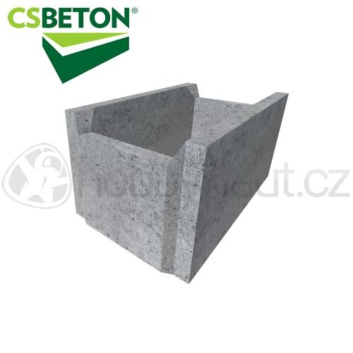 Zdicí materiály - CSB bednící tvárnice 250x500mm tl. 30cm