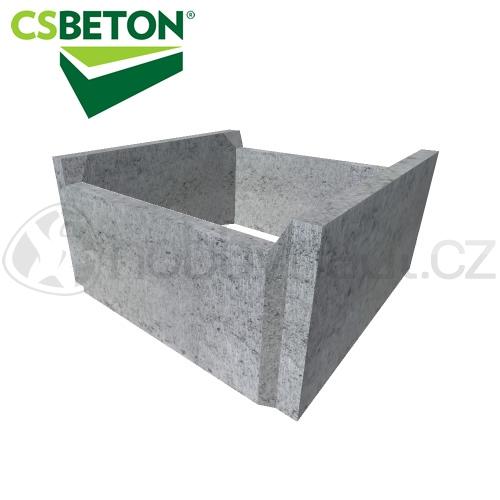 Zdicí materiály - CSB bednící tvárnice 250x500mm tl. 50cm