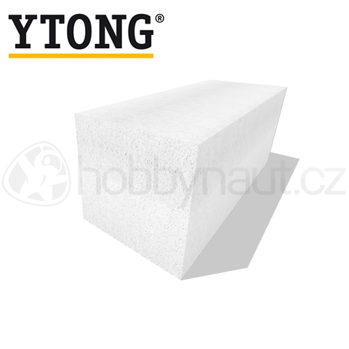 Zdicí materiály - YTONG tvárnice hladká P4-500 249x599 tl. 250mm