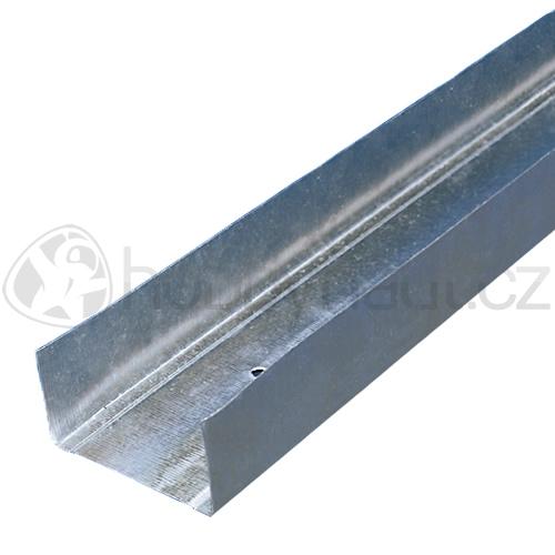 Sádrokarton a příslušenství - Profil UW (příčkový, obvodový)  75/40/0,6mm x 4m