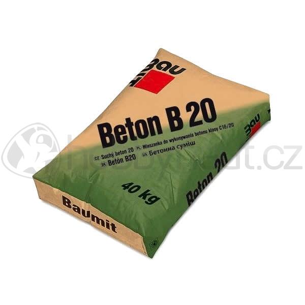 Stavební směsi - Baumit Beton B20 40kg