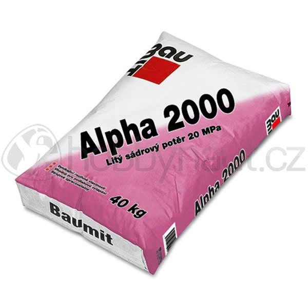 Stavební směsi - Baumit Alpha 2000 40kg