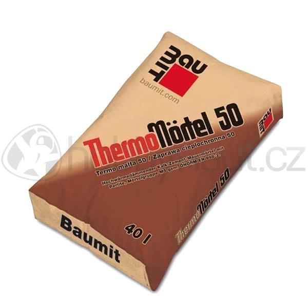 Stavební směsi - Baumit ThermoMortel50 40l