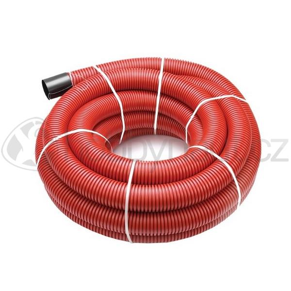 Hydroizolace a odvodnění - Kabelová chránička Kabuflex R červená (50m/role)