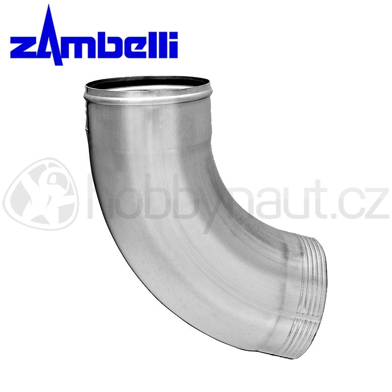 Klempířské prvky - Koleno svodu 72° lisované TiZn