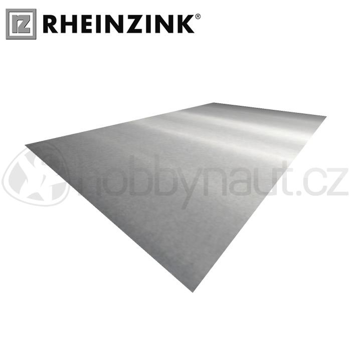 Klempířské prvky - Plech TiZn Rheinzink 1x2m, tl. 0,6mm