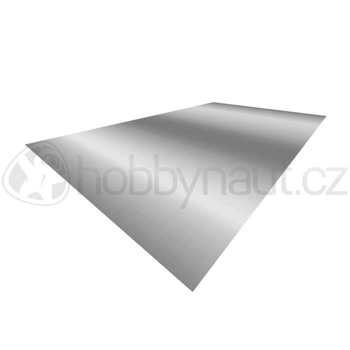 Klempířské prvky - Plech Al 1x2m, tl. 0,6mm
