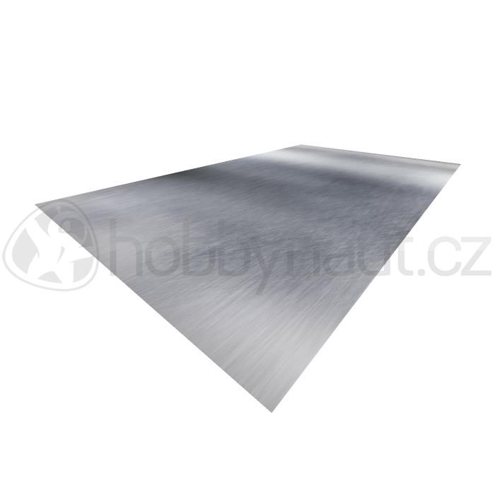 Klempířské prvky - Plech FeZn 1x2m, tl. 0,55mm