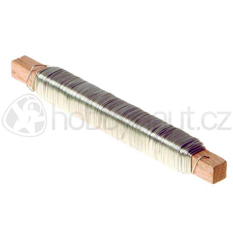 Pletivo a příslušenství - Drát vázací Zn 0,6mm x 30m