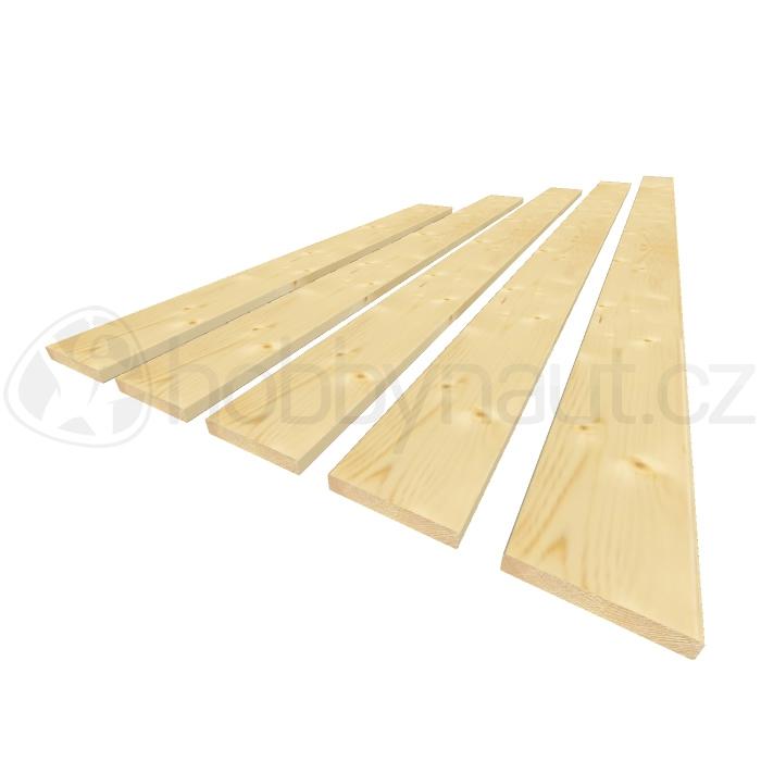 Dřevo - Plotovky krácené 18x110mm
