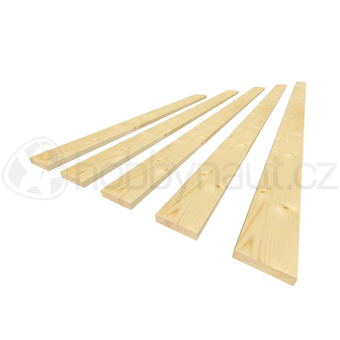 Dřevo - Plotovky krácené 18x 82mm