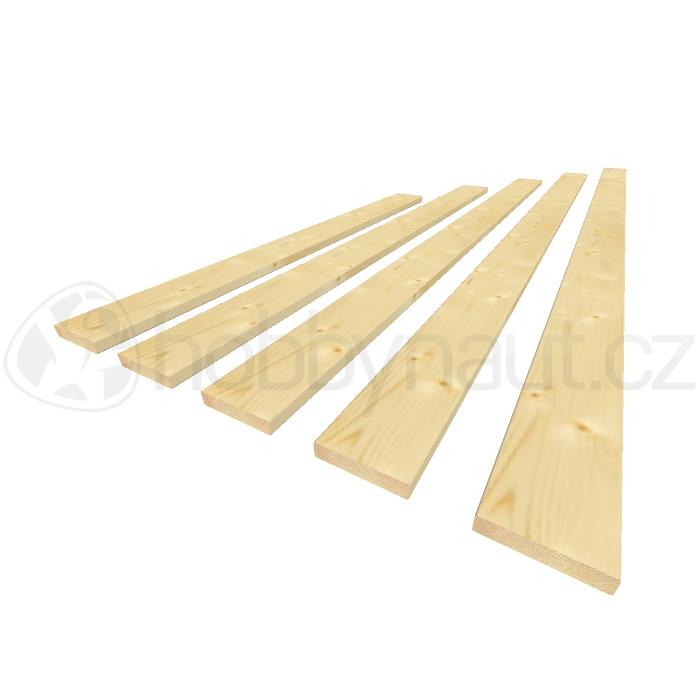 Dřevo - Plotovky krácené 19x 90mm
