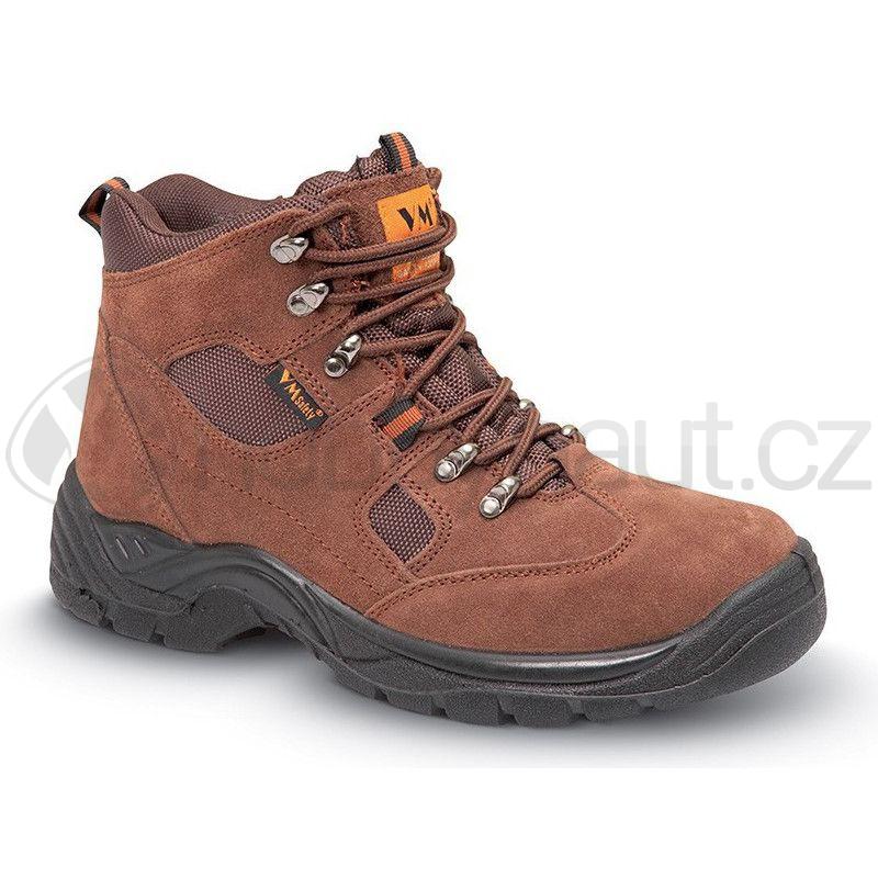 Pracovní oblečení - Pracovní obuv kotníková SAN MARINO hnědá a1d59fce34
