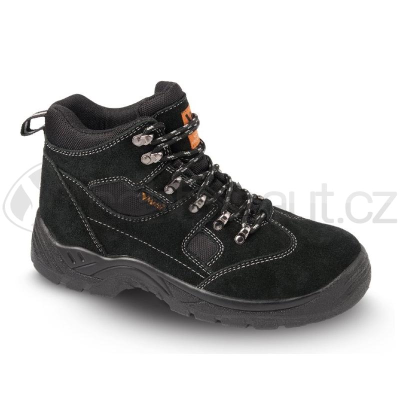 Pracovní oblečení - Pracovní obuv kotníková SAN MARINO černá 40c4d044a3