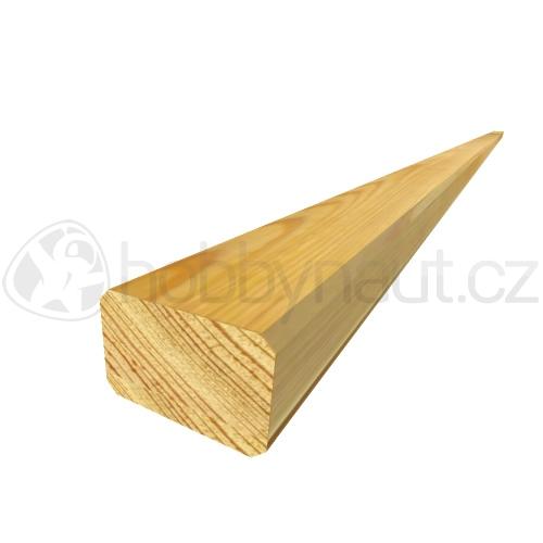 Dřevo - Terasový hranol BOROVICE 45x70mm x 4m