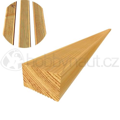Dřevo - Terasový hranol MODŘÍN SIBIŘSKÝ 45x70mm x 4mm