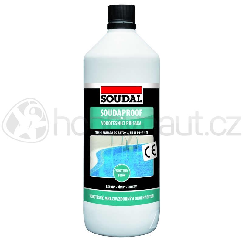 Stavební chemie - Soudal vodotěsnící přísada SOUDAPROOF
