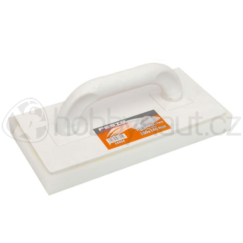 Ruční nářadí - Hladítko plastové s jemným molitanem Festa 250x130x20mm