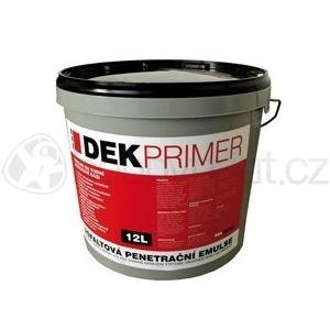 Hydroizolace a odvodnění - DEKPRIMER asfaltový penetrační nátěr 12kg