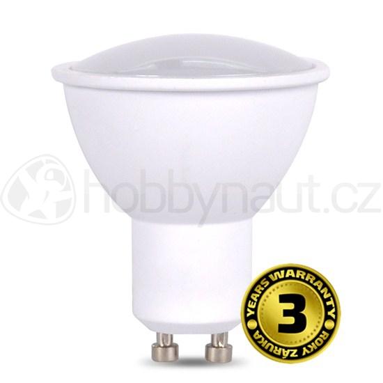 Elektro - LED žárovka bodová, patice GU10, 7W, 500lm, 4000K