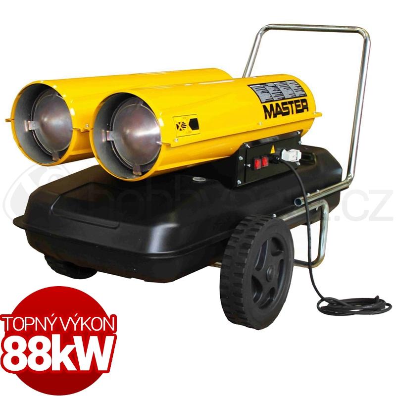 Vytápění a ohřev - Naftové topidlo Master B300CED 88kW