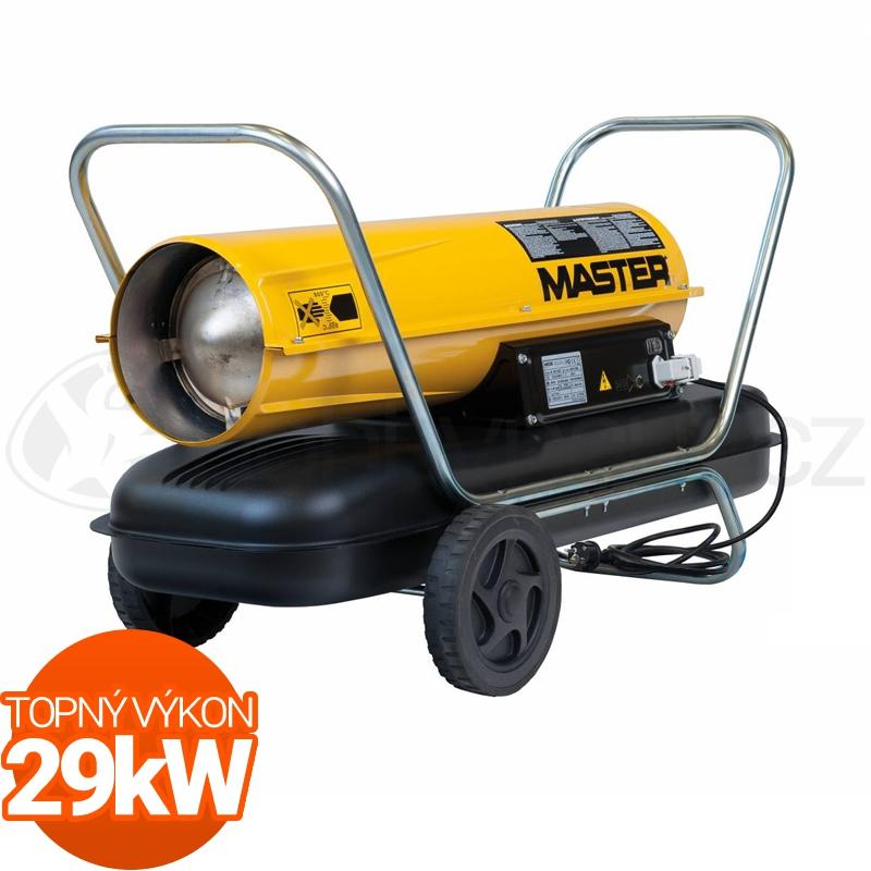 Vytápění a ohřev - Naftové topidlo Master B100CED 29kW