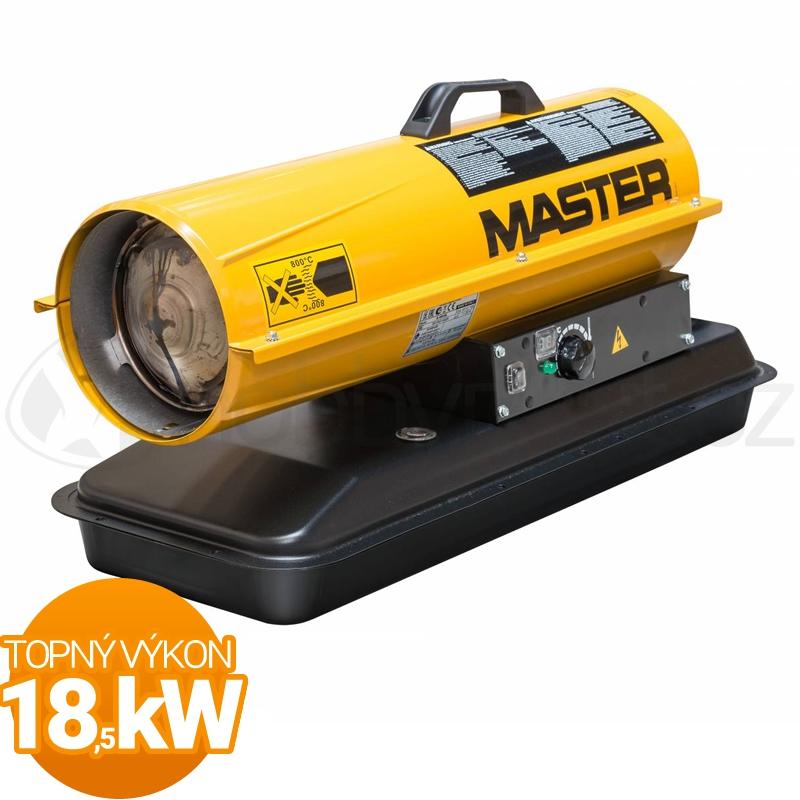 Vytápění a ohřev - Naftové topidlo Master B65CEL 18,5kW s termostatem